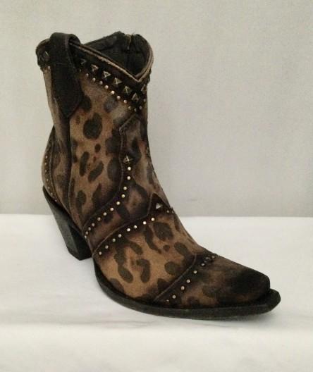 Natasha - Mustard Leopard