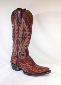 Nevada - Red (stock boot)