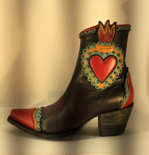 Sagrado Corazon -Black/red